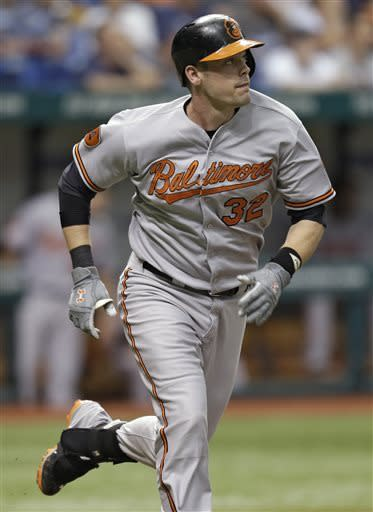 Orioles hammer Moore in win over Rays