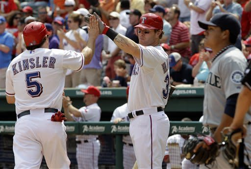 Holland, Young lead Rangers over Mariners 5-3