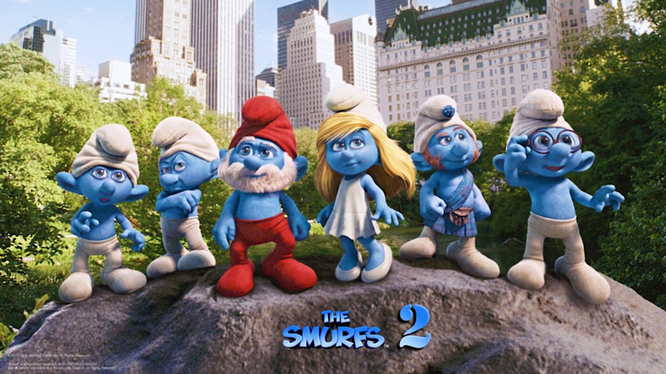 Katy Perry and Neil Patrick Harris on The Smurfs 2