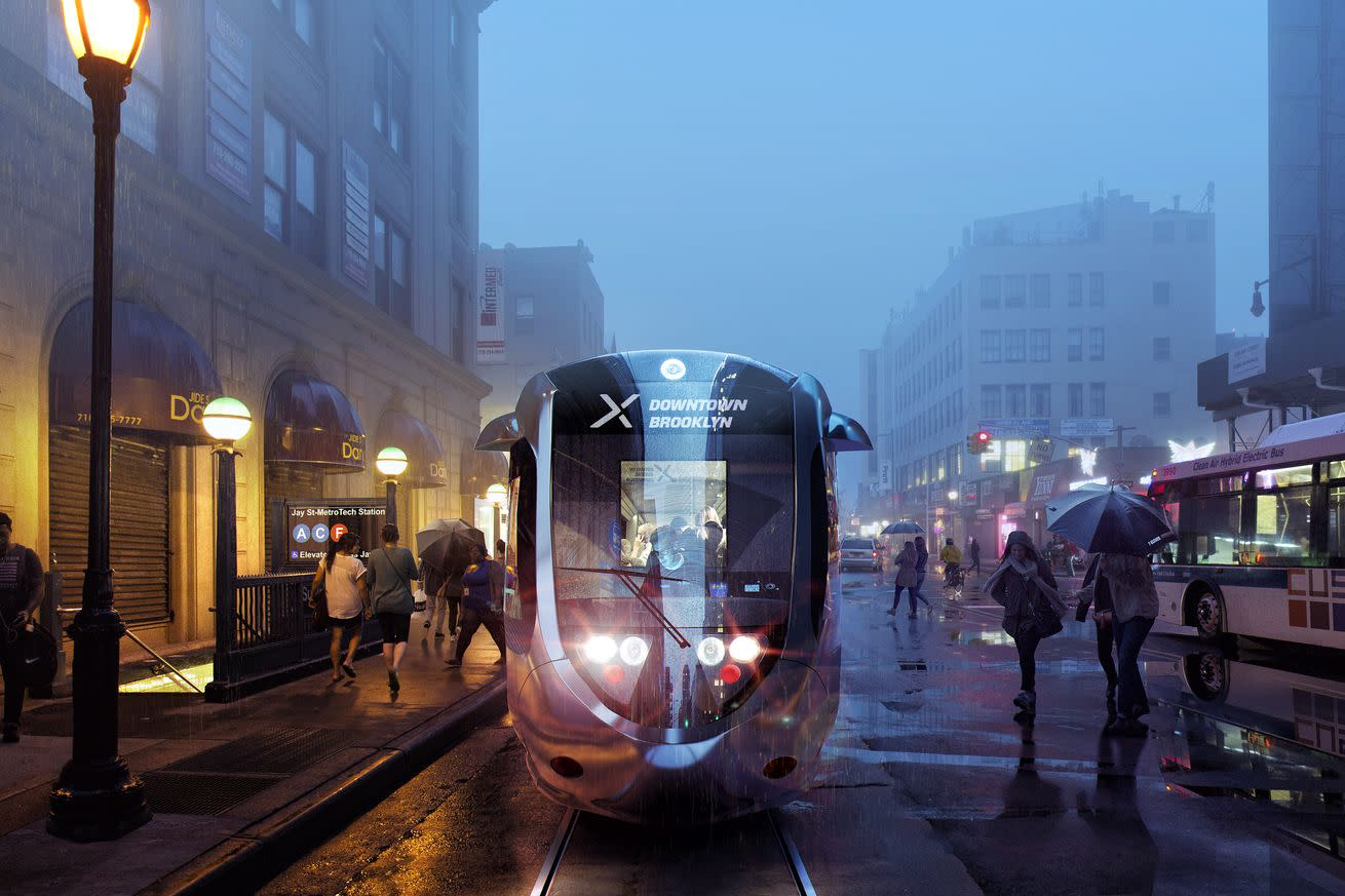 New York City is about to shell out $2.5 billion for fancy electric streetcars