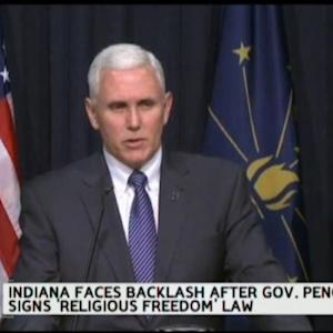Indiana's Religious Freedom Law: Business Backlash Begins