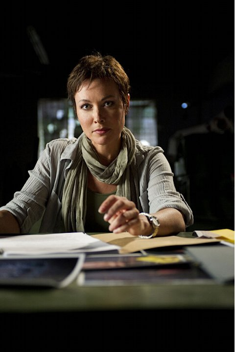 "Amanda Mealing  stars as Grant in ""Strike Back."""