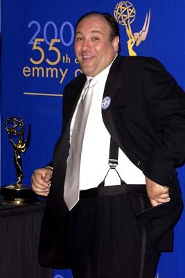 "James Gandolfini Outstanding Actor in a Drama ""The Sopranos"" 55th Annual Emmy Awards - 9/21/2003"