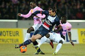 Ibrahimovic: Evian loss is a wakeup call for PSG
