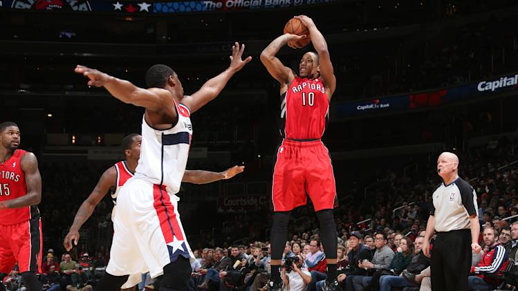 DeRozan's 20 lead Raptors past Wizards 101-88