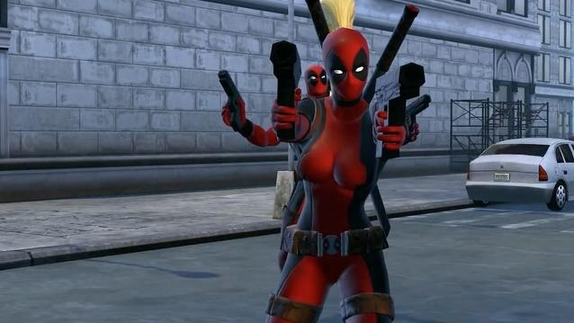 Marvel Heroes - Lady Deadpool Trailer