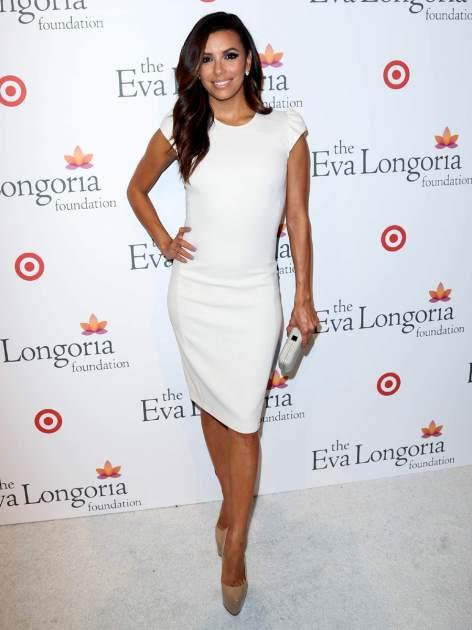 Actress Eva Longoria attends the Eva Longoria Foundation's pre-ALMA Awards dinner presented by Target on September 15, 2012 in Los Angeles -- FilmMagic