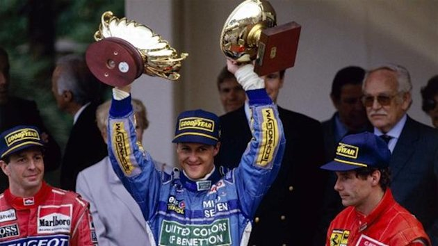 1994 Monaco GP Benetton Schumacher