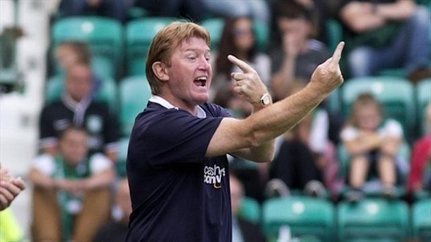 Stuart McCall is looking to build on the win over Partick