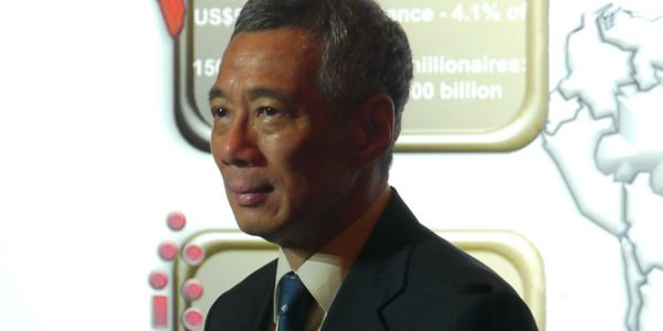 PM Lee Hsien Loong said that Singapore could act as a springboard for the South Asia community to engage with the rest of Asia and the world. (Yahoo! photo/ Faris Mokhtar)