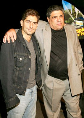 Premiere: Michael Imperioli and Vincent Pastore at the New York premiere of Dreamworks' Shark Tale - 9/27/2004