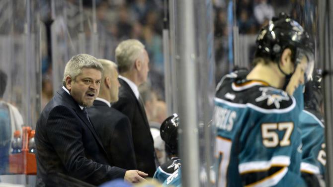 NHL: Anaheim Ducks at San Jose Sharks