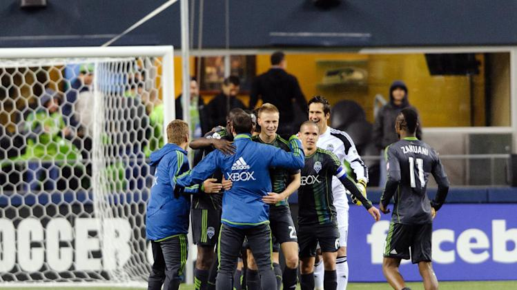 MLS: Champions League-Tigres UANL at Seattle Sounders
