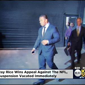 Union: Ray Rice Wins Appeal Against NFL, Ruled Immediately Eligible