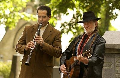 Tony Shalhoub and Willie Nelson Monk on USA Network