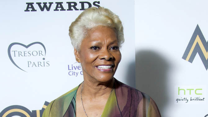 """FILE - This Nov. 3, 2012 file photo shows singer Dionne Warwick after receiving the lifetime acheivement award at the 2012 MOBO Awards in Liverpool. Warwick claims in a recent bankruptcy filing that she owes nearly $10 million in back taxes. The South Orange resident and singer of classics such as """"Walk On By,"""" """"I Say a Little Prayer"""" and """"Do You Know the Way to San Jose"""" filed a Chapter 7 petition in U.S. bankruptcy court in New Jersey last Thursday. (Photo by Joel Ryan/Invision/AP, file)"""