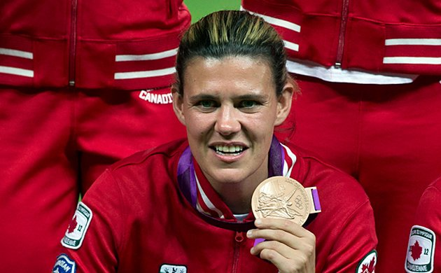 Christine Sinclair announced as Canadian flag-bearer at Olympic Closing Ceremony