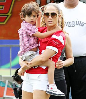 "Jennifer Lopez's Son Max Has ""Stitches on His Chin"": ""I Was Freaking Out,"" She Says"