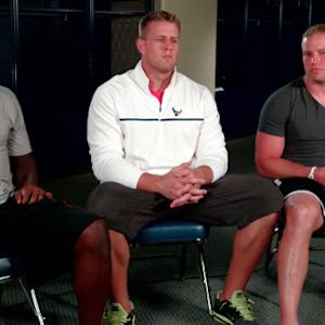Texans' defensive stars prep for big improvement