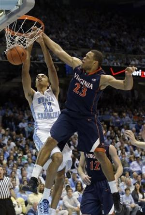 North Carolina beats Virginia 93-81