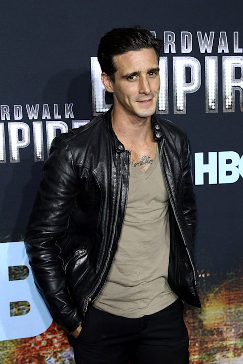 "James Ransone attends the premiere of ""Boardwalk Empire"" at the Ziegfeld Theatre on September 15, 2010, in New York City."