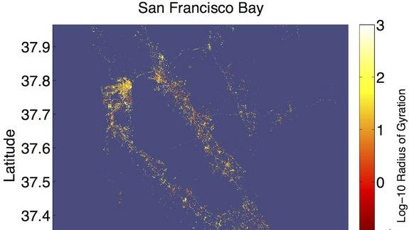 Pretty City Images Reveal How People Move