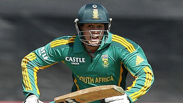 South Africa's Quinton de Kock starred again (Reuters)