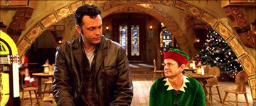 Vince Vaughn and John Michael Higgins in Warner Bros. Pictures' Fred Claus