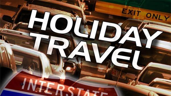 Busy weekend for holiday travelers