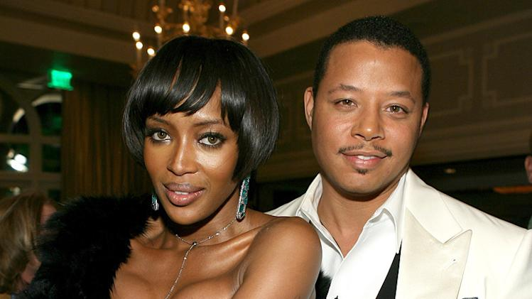 Terrence Howard Naomi Campbell 2007