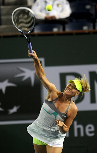 Tennis: BNP Paribas Open-Sharapova vs Errani