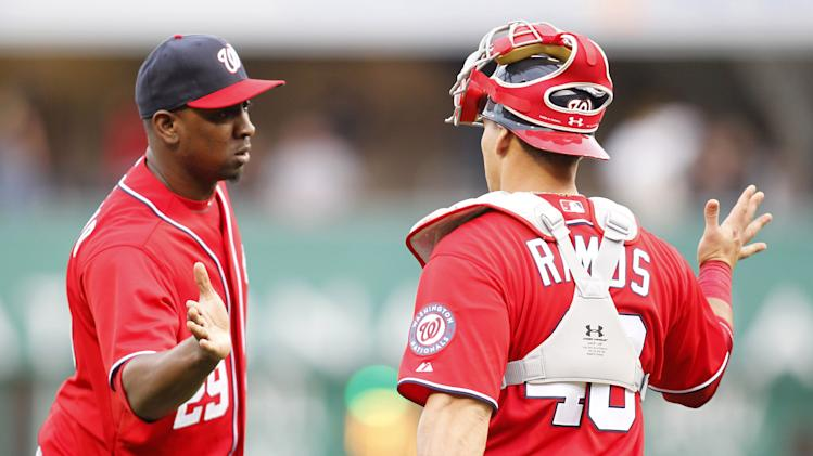 MLB: Washington Nationals at Pittsburgh Pirates