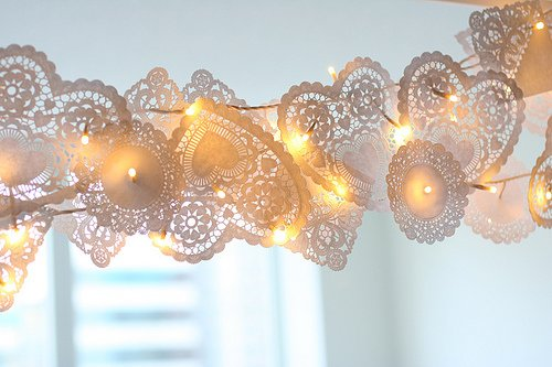 Doily Garland