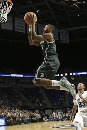 No. 5 Michigan State rallies past Penn State 79-63
