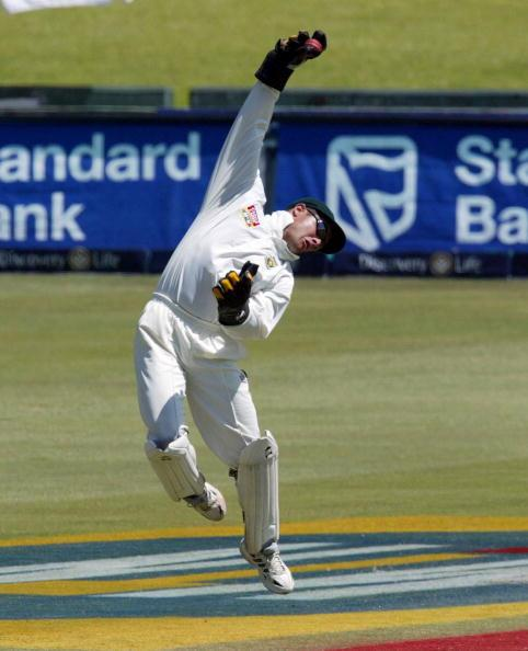 TRANSVAAL - NOVEMBER 18: Mark Boucher of South Africa in action on the fourth day of the second test match between South Africa and Sri Lanka, played at Supersport Park, Centurion, Transvaal, South Af