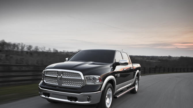 A more fuel-efficient Ram pickup