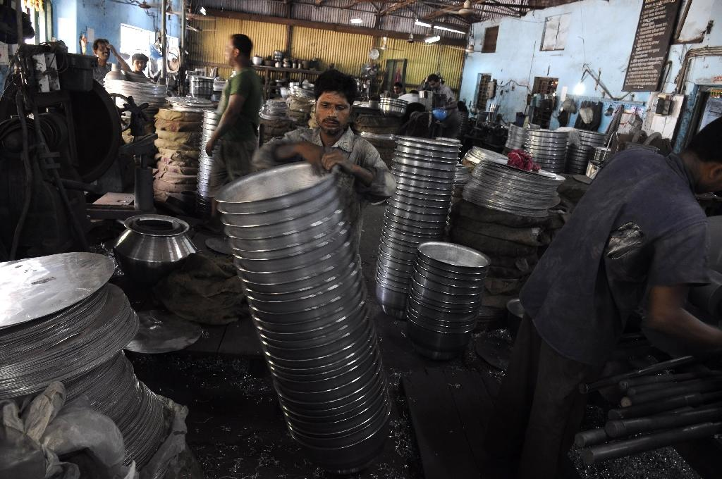 India factory output eases in April on weak demand