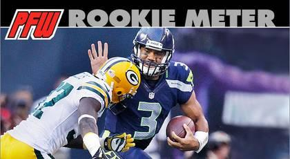Rookie Meter: Wilson's career off to a wild start