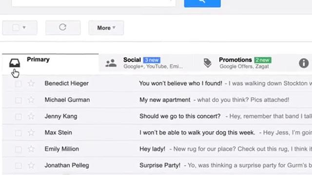 New Gmail Inbox Will Auto-Organize Incoming Mail