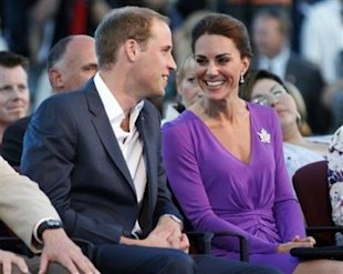 Kate charms the Canadian crowds.