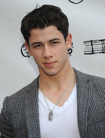 Nick Jonas steps out at the 'Once' Broadway opening night at The Bernard B. Jacobs Theatre in New York City on March 18, 2012  -- Getty Images