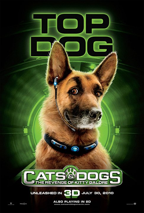 Cats & Dogs the Revenge of Kitty Galore 2010 Warner Bros. Pictures Poster
