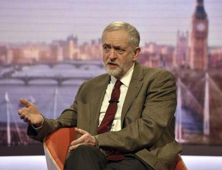 Labour leader sticks to 'in' camp in Britain's EU debate