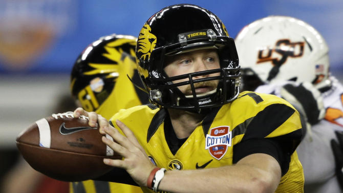 Mauk more comfortable as Missouri QB