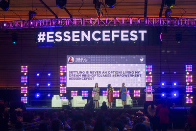Postano powers multiple real-time social media screens in the Superdome for the Essence Festival.