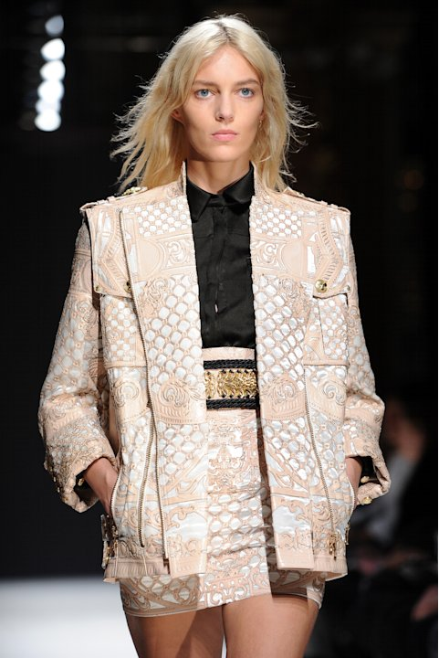 Balmain: Runway - Paris Fashion Week Womenswear Fall/Winter 2012