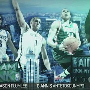 Inside The NBA: Sprite Slam Dunk Participants