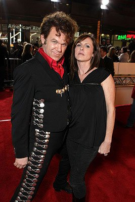 John C. Reilly and Molly Shannon at the Los Angeles premiere of Columbia Pictures' Walk Hard: The Dewey Cox Story