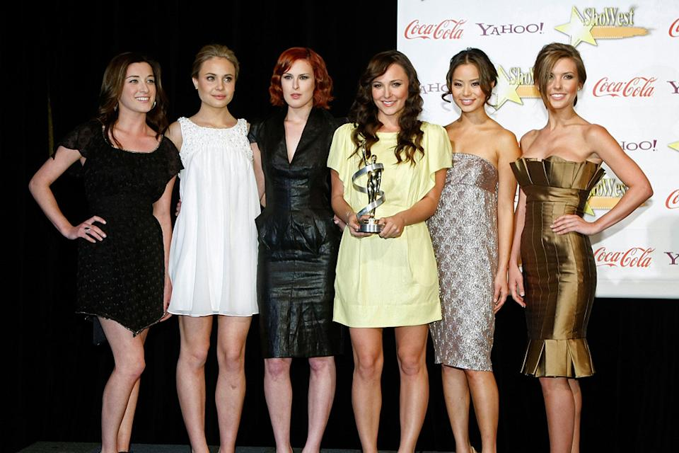 ShoWest 2009 Awards Ceremony Margo Harshman Leah Pipes Rumer Willis Briana Evigan Jamie Chung Audrina Patridge