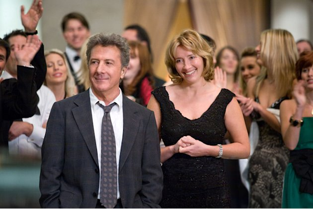 Emma Thompson Dustin Hoffman Last Chance Harvey Production Stills Overture 2008